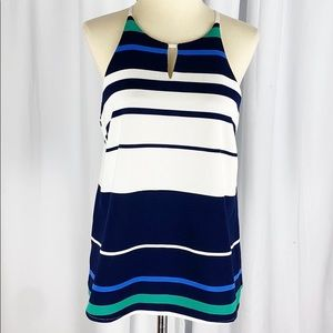 Anthro Sunday in Brooklyn Ribbed Knit Striped Tank